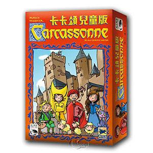 【新天鵝堡桌遊】卡卡頌兒童版  Carcassonne Kids -中文版