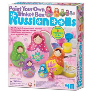 《4M美勞創作》Russian Dolls 彩繪俄羅斯娃娃