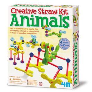 《4M美勞創作》吸管創意-動物樂園 Tubee Creative Kit - Animals