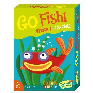 釣魚趣!桌上遊戲(中文版)-Go Fish!