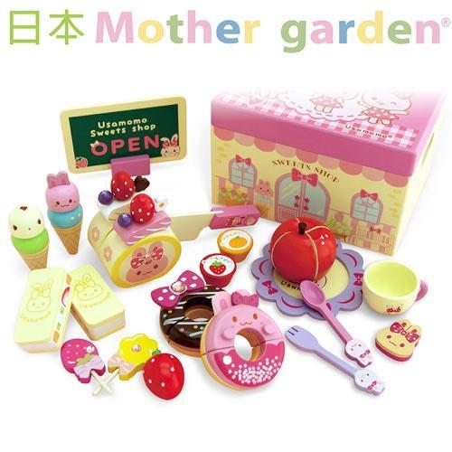 「日本 Mother Garden」小白兔繽紛派對點心盒