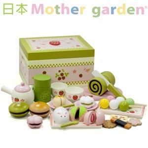 「日本 Mother Garden」野草莓日式抹茶點心盒