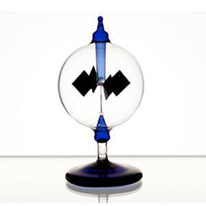 賽先生科學工廠-光能輻射計/太陽風車-藍色12cm