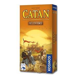 【新天鵝堡桌遊】卡坦島騎士5-6人擴充 Catan Cities & Knights 5/6 Exp