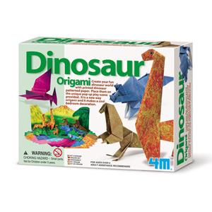 《4M美勞創作》恐龍摺紙秀 Origami Making Kit / Dinosaur