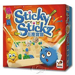 【新天鵝堡桌遊】毛塵寶寶 Sticky Stickz