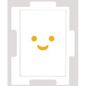 10X14.7cm 日系/150P白色塑膠框