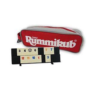 Rummikub 拉密-數字磚塊牌Mini Pouch 袋裝攜帶版桌遊(小袋)