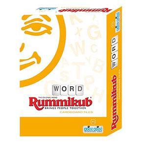 Rummikub 拉密-數字磚塊牌Word Cardboard Lite英文字彙外出型簡易版 桌遊