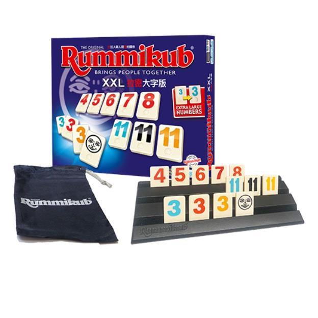 Rummikub 拉密-數字磚塊牌 XXL 大型版桌遊