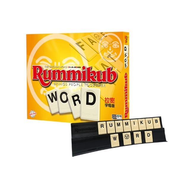 Rummikub 拉密-數字磚塊牌Word 字母版桌遊