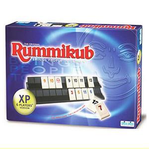 Rummikub 拉密-數字磚塊牌XP 6人版桌遊