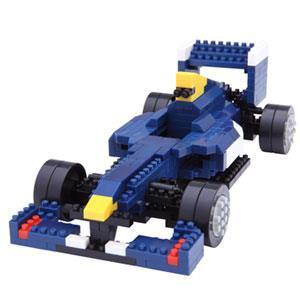 《Nano Block 迷你積木》NBM - 018 方程式賽車