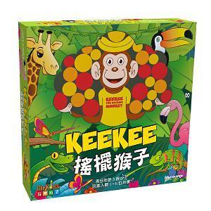 搖擺猴子 木製桌上遊戲 (中文版) - KeeKee the Rocking Clown