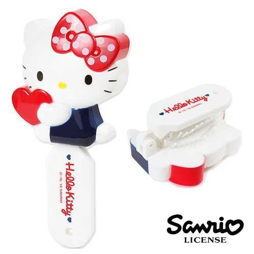 Hello Kitty 凱蒂貓 造型折疊梳 附鏡子 折梳 三麗鷗