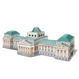 真台灣景點-台北-台灣博物館  (建築版)