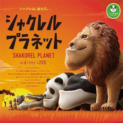 全套6款 戽斗動物園 P1 扭蛋 轉蛋 第1彈 厚道動物園 厚道星球 熊貓之穴