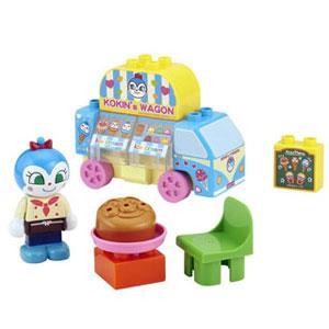 《麵包超人》ANP 藍精靈積木玩具 13 PCS