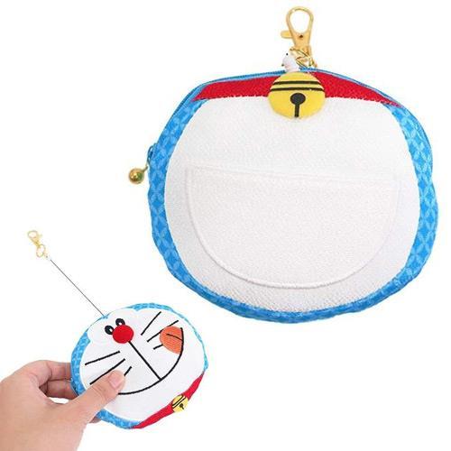 哆啦a夢 百寶袋款 日式和風 彈力票夾錢包 小叮噹 DORAEMON