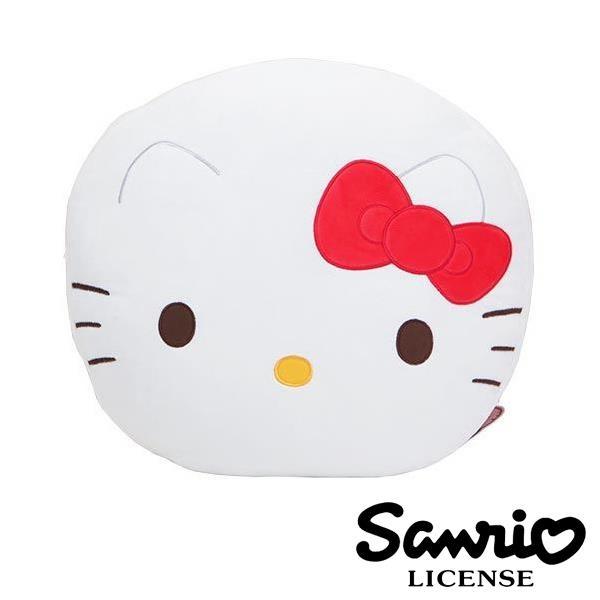 Hello Kitty 凱蒂貓 絨面大抱枕 靠枕 抱枕 SANRIO