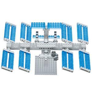 《Nano Block 迷你積木》【太空系列】NBH-129太空站