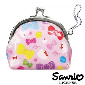 Hello Kitty 凱蒂貓 口金包 零錢包 珠扣包 防潑水 三麗鷗 Sanrio