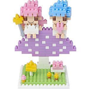 【TICO微型積木】雙子星∣蘑菇篇