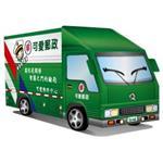 【Q可愛火車】DIY 真‧會跑汽車-可愛郵政車(新版)