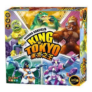 東京之王 桌上遊戲 (中文版) King of Tokyo