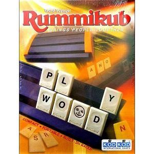 Rummikub 拉密-Word Voyager Travel 英文字彙牌旅行版 桌遊