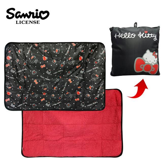 HelloKitty 凱蒂貓 折疊披肩 冷氣毯 披肩 小毯子 三麗鷗 Sanrio