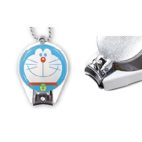 哆啦a夢 丸型 指甲剪 隨身剪 迷你指甲剪 日本製 吊飾 小叮噹 DORAEMON