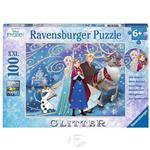 【德國Ravensburger拼圖】冰雪奇緣:閃亮的魔法-大拼片拼圖-100XXL片Disney Frozen: Frozen