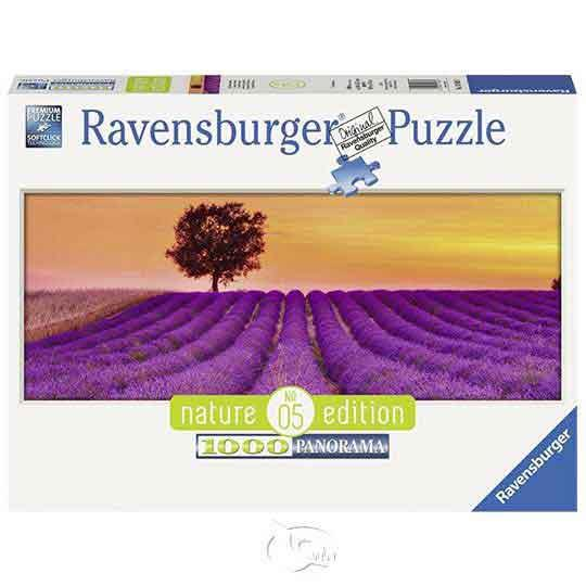 【德國Ravensburger拼圖】永遠的薰衣草-1000片Lavender Field forever