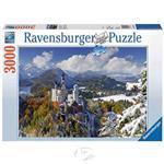 【德國Ravensburger拼圖】新天鵝堡雪景-3000片Neuschwanstein Castle in Winter