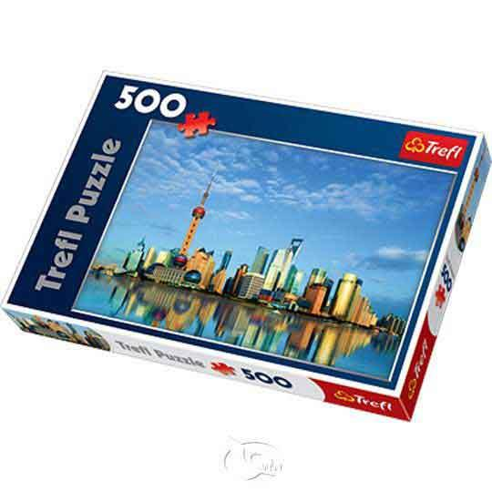 【波蘭TREFL拼圖】上海景觀-500片Shanghai, China