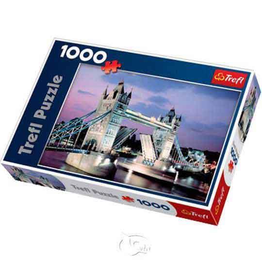 【波蘭TREFL拼圖】倫敦塔橋-1000片Tower Bridge