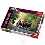 【波蘭TREFL拼圖】馬群奔騰-1000片English Thoroughbred Stallions, Widzow Stud Farm