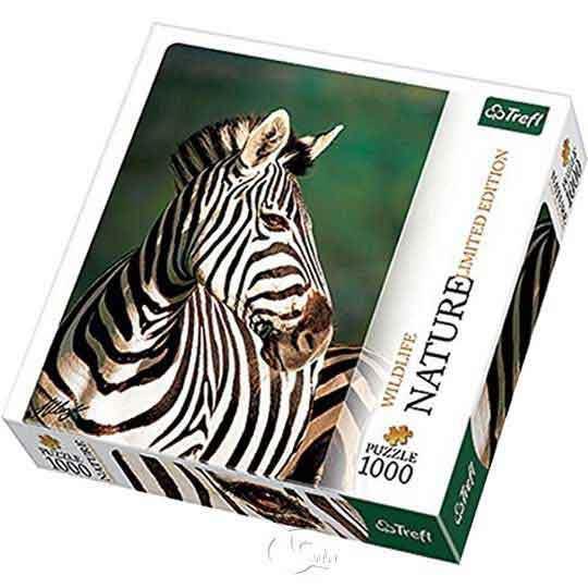 【波蘭TREFL拼圖】斑馬-自然攝影系列-1000片Zebra