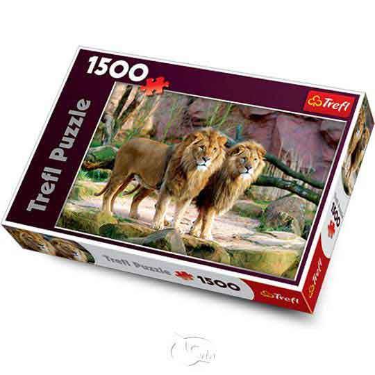 【波蘭TREFL拼圖】獅群-1500片Lions