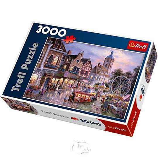 【波蘭TREFL拼圖】遊樂園-3000片Amusement park
