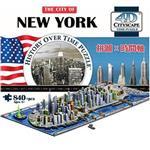 賽先生科學工廠-4D立體城市拼圖(紐約)