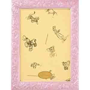 迪士尼 18.2**25.7cm 日系/108P粉紅色雕刻框