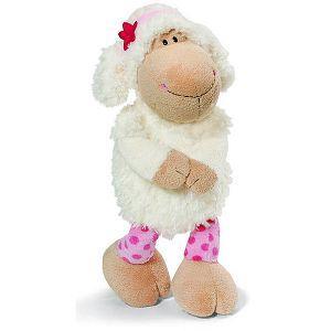 80cm鄰家小蘇咩咩羊坐姿玩偶