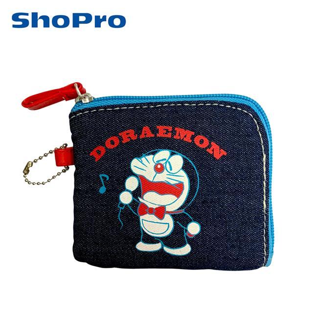 哆啦A夢 L型 零錢包 收納包 卡片包 小叮噹 DORAEMON