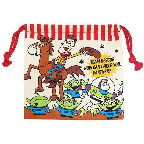 玩具總動員 束口袋 收納袋 抽繩束口袋 迪士尼 Disney 皮克斯