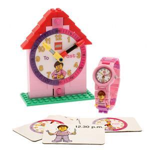 【樂高積木 LEGO】樂高時鐘教師-女孩