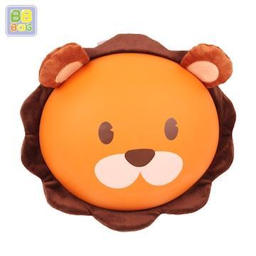 【韓國 BB BAG】 防走失可愛動物後背包書包(附收納袋)-獅子