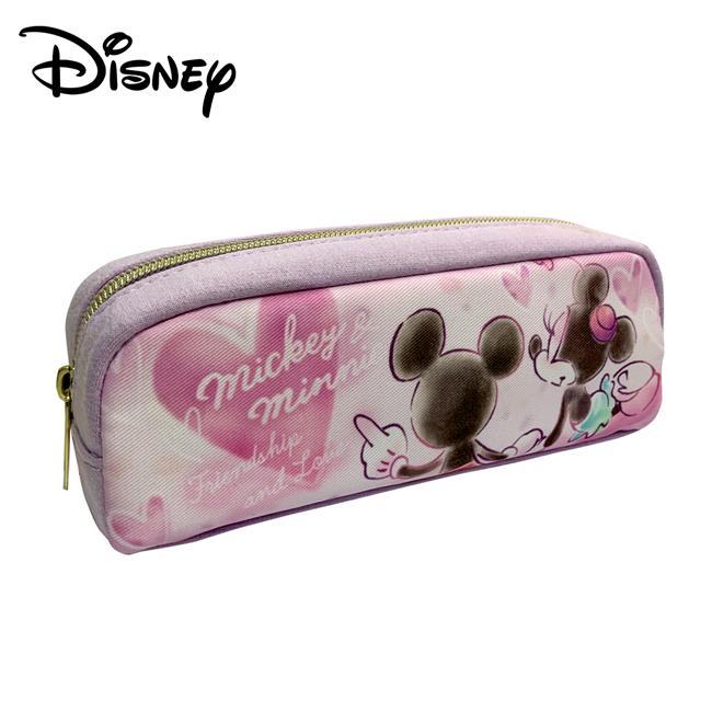 米奇 米妮 牽手 筆袋 鉛筆盒 迪士尼 Disney Mickey Minnie