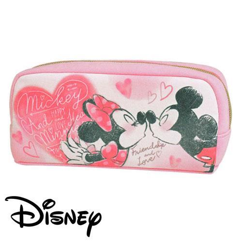 米奇 米妮 親親 筆袋 鉛筆盒 迪士尼 Disney Mickey Minnie
